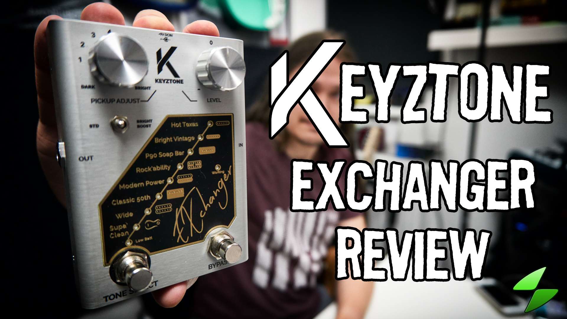 Keyztone exchanger